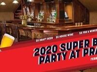 Super Bowl Party at Pratt's
