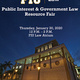 2020 Public Interest & Government Law Resource Fair