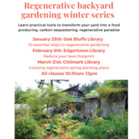 Regenerative Backyard Gardening Workshop
