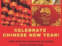 Celebrate Chinese New Year! Make delicious handmade dumplings. Enjoy Chinese food. Make Chinese lanterns. Win prizes in the chopstick challenge. Friday, January 24, Lunch and Dinner, Valentine Dining Hall.