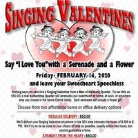 Santa Clarita Men of Harmony Singing Valentine Serenades