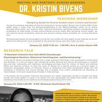 Writing and Rhetoric Across Borders with Dr. Kristin Bivens
