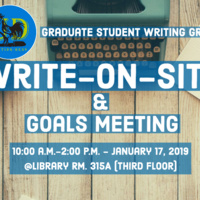 Write-On-Site & Goals Meeting
