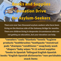 UTRGV Brownsville Philosophy Club Donation Drive for Asylum-Seekers