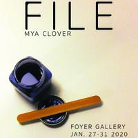 """File"" Foyer Gallery Exhibit"