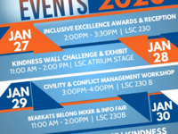 SHSU Inclusive Excellence Awards & Creed Week Kick Off Reception