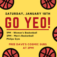 Go Yeo! Free Dave's Cosmic Subs Day
