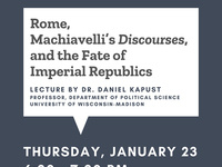 Rome, Machiavelli's Discourses, and the Fate of Imperial Republics