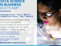 Data Science in Business Bootcamp   Tuesdays