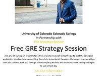 GRE Strategy Session