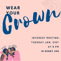 Wear Your Crown (WYC) Interest Meeting