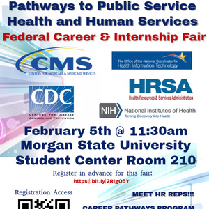 Pathways to Public Service Health and Human Services Fair