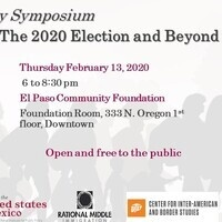 The Future of Immigration: The 2020 Election and Beyond - a community symposium