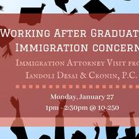 Working After Graduation: Immigration Concerns