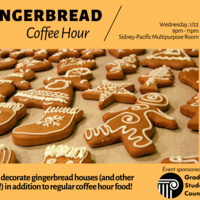 Gingerbread Coffee Hour