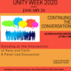Unity Week Continuing the Conversation