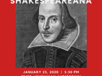 Event image for English Department Colloquium with Dr.John Cox