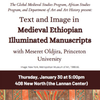 Text and Image in Medieval Ethiopian Illuminated Manuscripts
