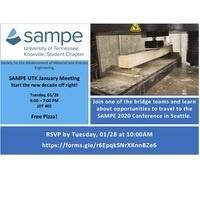 SAMPE UTK January Meeting