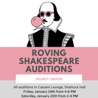 Roving Shakespeare Auditions