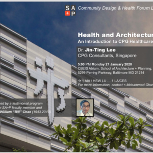 Spring 2020 Lecture Series: Dr. Jin-Ting Lee