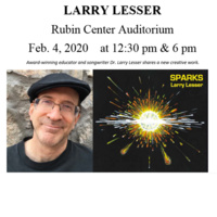 Music and Talk by Dr. Larry Lesser
