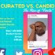"""Curated vs. Candid The Rise of """"Finsta"""" - Mental Health Pop-Up Series"""