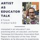Artist as Educator Talk:  Ethan Pignataro