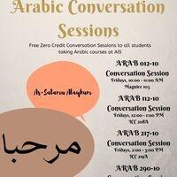 Arabic Conversation Sessions