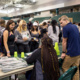 Students learn more about clubs at Student Involvement Fair