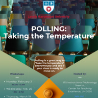 Polling: Taking the Temperature Flyer