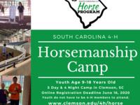 Horsemanship Camp Registration Open