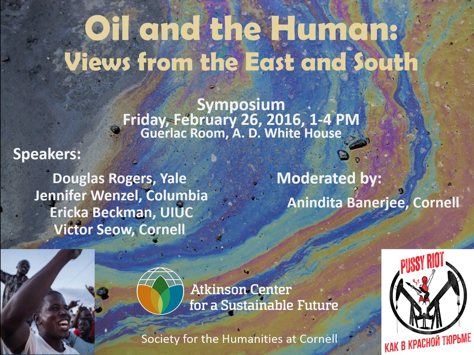 Oil and the Human: Views from the East and South