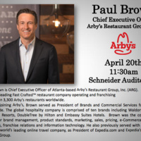 Paul Brown, CEO, Arby's