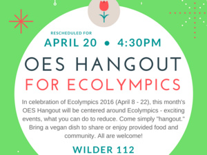 OES Hangout: Ecolympics 2016 Edition