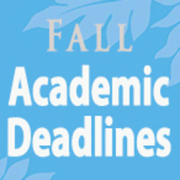 Last Day to Drop Courses With a 'W' & Complete Withdrawal for Fall '18