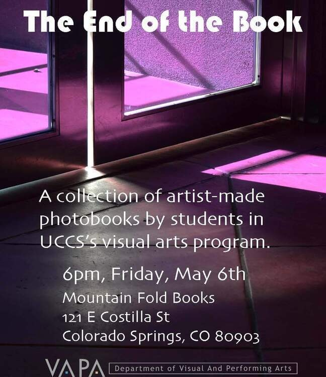 """""""THE END OF THE BOOK"""" - Student Art Exhibition"""