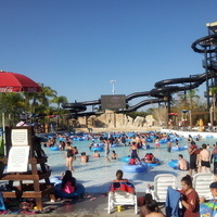 Dive-in Movies at Six Flags Hurricane Harbor