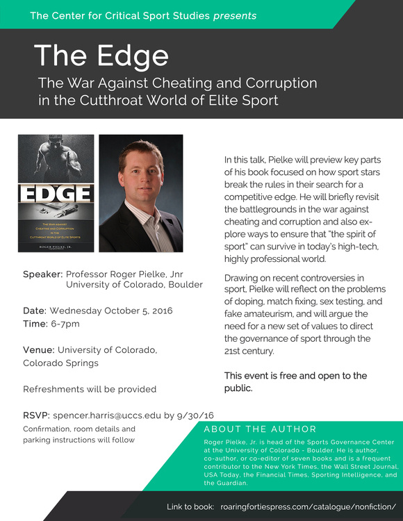 The Edge: The War Against Cheating and Corruption in the Cutthroat World of Elite Sport