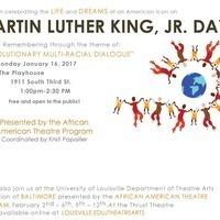 Martin Luther King, Jr. Day Program