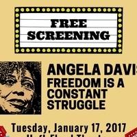 Free Screening: Angela Davis: Freedom is a Constant Struggle