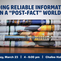 """Finding Reliable Information in a """"post-fact"""" world"""