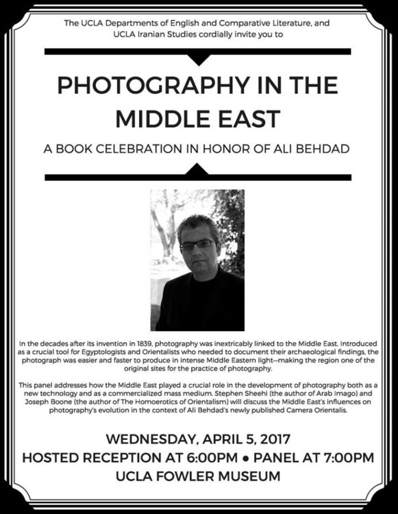 Reflections on Photography of the Middle East Camera Orientalis