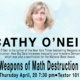 Weapons of Math Destruction: CP Snow Lecture with Cathy O'Neil