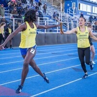 University of Delaware Track & Field - Outdoor vs CAA Outdoor Championshops