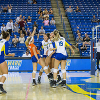 University of Delaware Volleyball at Princeton