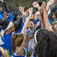 University of Delaware Women's Basketball vs Hofstra - NGWSD / Postgame Autographs
