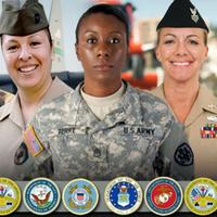 May 8th-12th, Women Veteran's Week: Strength. Support.  Sisterhood