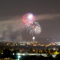 City of Santa Clarita Fourth of July Fireworks Show