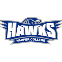 Harper College Hawks Sports Logo
